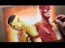 Drawing The Flash/Kid Flash - DC - Time-lapse Artology