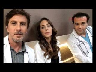 турецкий сериал  Сердцебиение KALP ATISI  12 серия за кадром