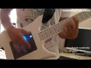 Misa Digital Guitar Demo - Сенсорная электрогитара