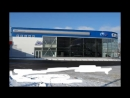 Проекционная реклама автосалона Subaru Пулково