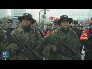 Watch how Chinese SWAT police are trained