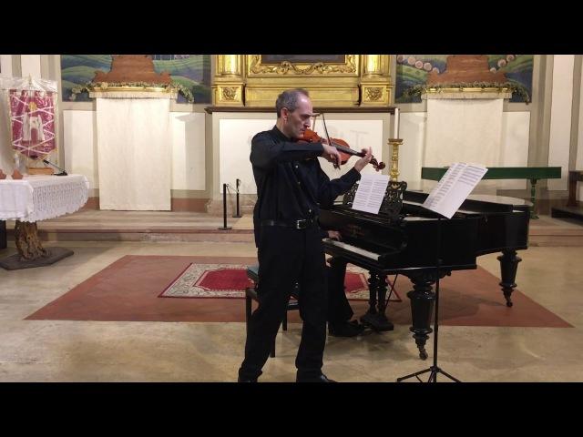 J Raff Tarantella op 85 n 6 per VL e Pf Fabio Imbergamo violino Carlo Guerra pianoforte