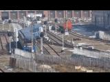 """Выход на линию 81-714⁄717 из электродепо ТЧ-1 """"Московское"""""""
