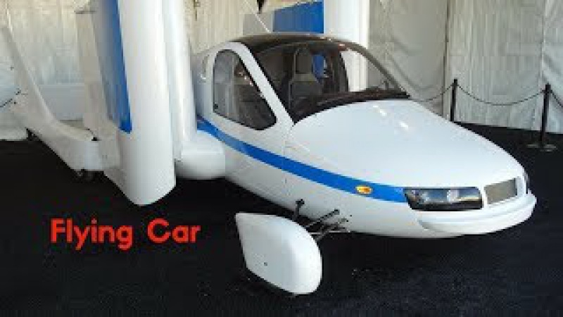AMAZING FLYING CAR YOU DIDN'T KNOW EXISTED