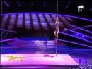 8 гимнастка покорила всех