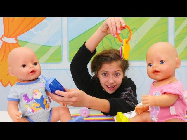 Polen bakıcı oluyor! Bebek bakma oyunu