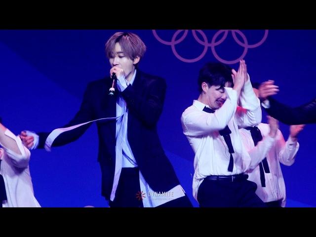 180224 평창올림픽 헤드라이너쇼 :: I Wanna Dance (Eunhyuk focus)