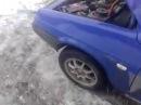ВАЗ-2108.Последствия пропавшей массы на кузове.