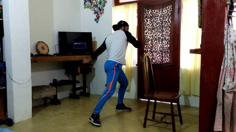 Treino funcional para mulher homem capoeira santista ilhabela