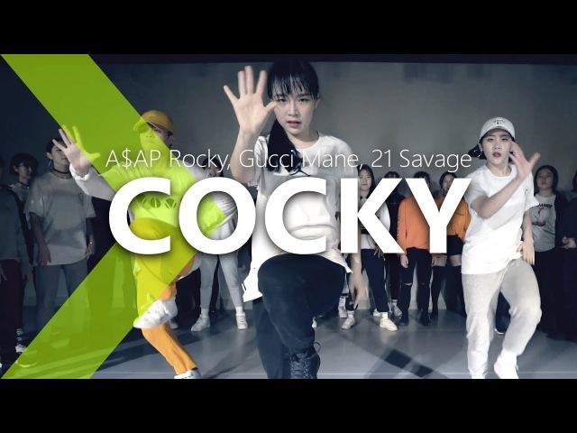 A$AP Rocky, Gucci Mane, 21 Savage - Cocky / PK WIN Choreography.