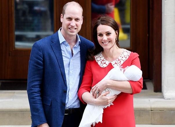 Кейт Миддлтон и принц Уильям обнародовали имя сына