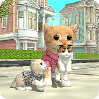 Установить  Симулятор Кошки Онлайн [Мод: много денег]