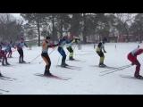Бийск, лыжные гонки - Старт ! Девушки ( 3 км)  и Юноши (5 км)