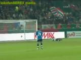 Кубок УЕФА 2007/08. Локомотив (Москва) - Атлетико (Испания) - 3:3 (1:1).