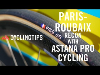 A day with Astana: Recon for Paris Roubaix