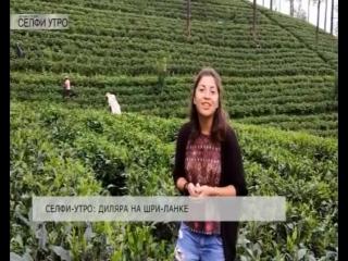Селфи-утро: Диляра на Шри-Ланке