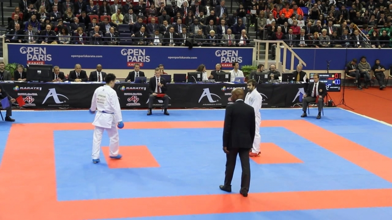 Karate1 Premier League - Paris 2018 Final -75 Agaev (AZR) - NISHIMURA(JPN)