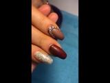 Покрытию с матовым  топом на своих ногтях 18 дней