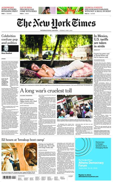 2018-06-05 The New York Times International Edition