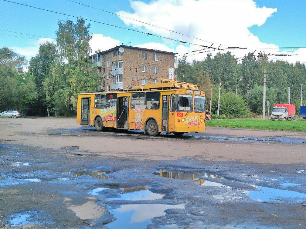 Троллейбус №4. Конечная. ул.Расторгуева