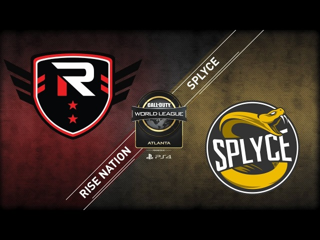 Rise Nation vs Splyce CWL Atlanta Open 2018 Alpha Stream Day 1