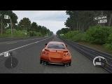 Forza 7 Drag race: Nissan GTR 2017 vs Acura NSX '16