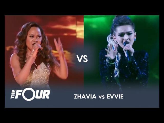 Zhavia vs Evvie THE BATTLE OF THE SEASON Finale The Four