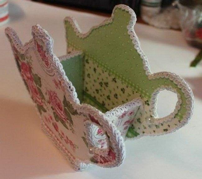 Как сделать подставку для чайных пакетиков своими руками