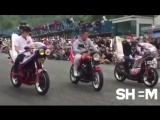 Японское шоу про мотоциклы