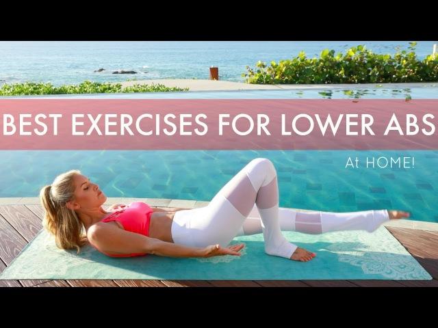 Интенсивная тренировка нижней части пресса - Лучшие домашние упражнения для плоского живота. INTENSE Lower Abs Workout - BEST MOVES FOR A FLAT BELLY at Home| Rebecca Louise