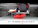 Печать ПЛА-пластиком на новом 3D-принтере Faberant Cube