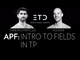 Houdini Vs Thinking Particles: Fields in TP