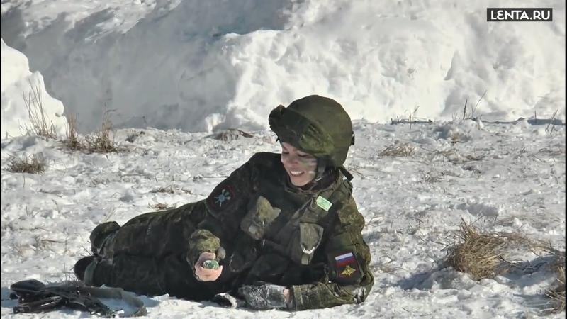 Красивые и опасные русские женщины защитницы