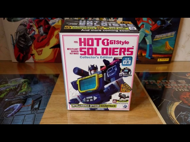 Soundwave Mech Planet Hot Soldiers HS03 Soundtrack Rus Review