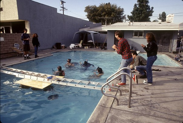 Фотосессия Nirvana для альбома «Nevermind», который вышел 26 лет назад.