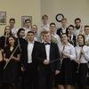 Духовой оркестр ССМШ консерватории.