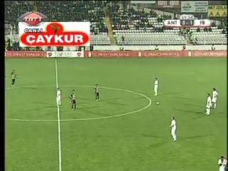 Turkish Cup 2009-10. Antalyaspor - Fenerbahce (2 half)