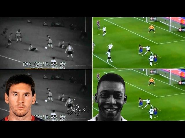 UNREAL! Pelé ● Comparação ● How great he was, how genius!