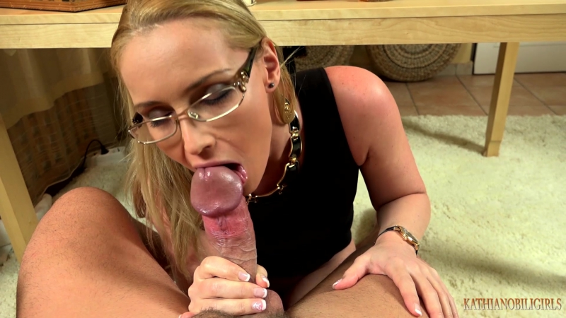Clips4Sale - Kathia Nobili - Blackmailing in the office - Fuck that bitch BOSS mouth to keep your job!!!