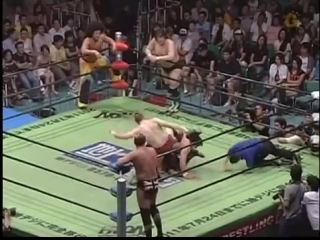 Bryan Danielson, Nigel McGuinness, Rocky Romero vs Takeshi Morishima, Go Shiozaki, Mohammed Yone (2007.7.15)