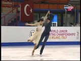 Lorraine McNamara &amp Quinn Carpenter - 2013 World Junior Championships - FD