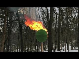 Горящий шар из 42,000 спичек (VHS Video)