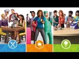 Трейлер The Sims™ 4 Коллекция: «На работу!», «В ресторане» и «Классная кухня» для консоли