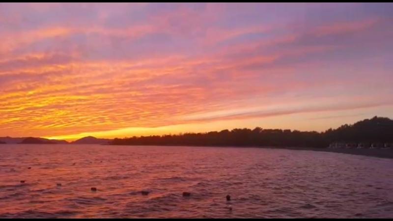 Закат в TUI SENSATORI Resort Barut Fethiye...