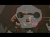 Zakk_Wylde_Plays_Black_Sabbath_on_Hello_Kitty_Mini-Guitar