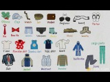 Learn Names of Clothes | Men's Clothing Vocabulary in English