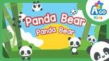 Panda Bear, Panda Bear Action Verb Bedtime Song AGO kids ESL