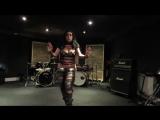 Diana Bastet Metal Belly Dance. AC_DC Thunderstruck