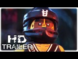 THE LEGO NINJAGO MOVIE Characters Trailer New (2017) Jackie Chan Animation Movie HD