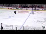Моменты из матчей КХЛ сезона 16/17 • Гол. 1:0. Щехура Пол (Трактор) открывает счет матча 05.09